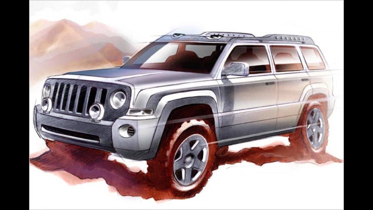 Jeep Patriot auf der IAA