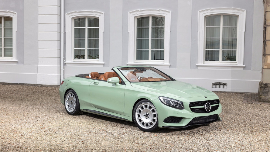 Une désirable Mercedes Classe S Cabriolet signée Carlsson