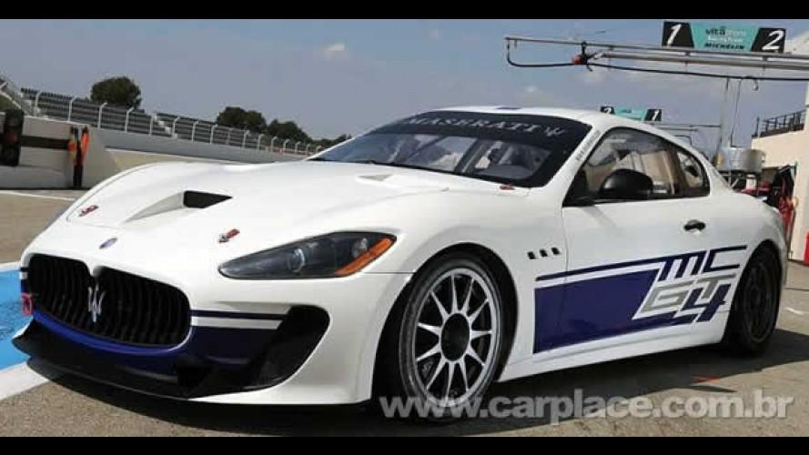 Maserati GranTurismo MC - Apresentada versão de corrida com motor V8 de 456cv de potência