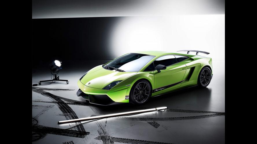 Lamborghini Gallardo a quota 10.000