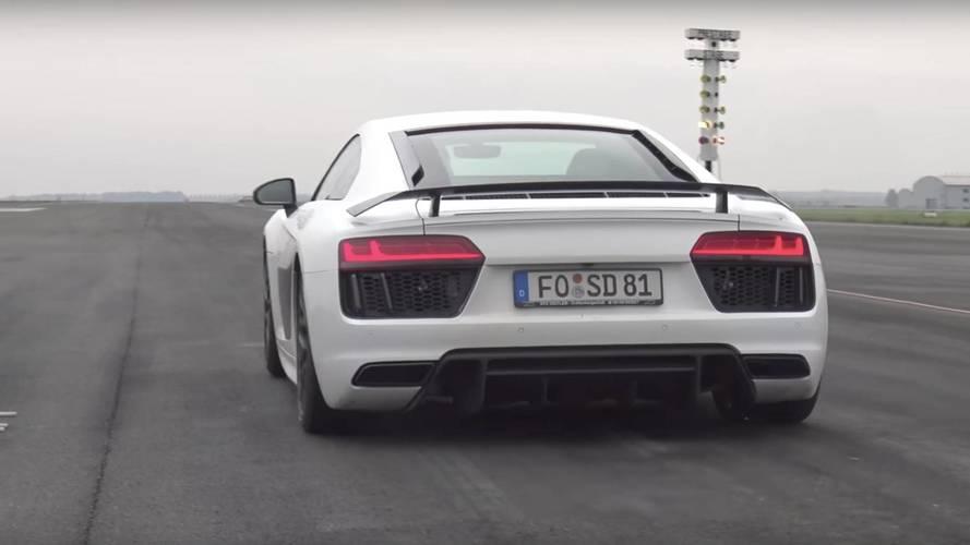 Avez-vous déjà vu ? Une Audi R8 de 900 chevaux ?