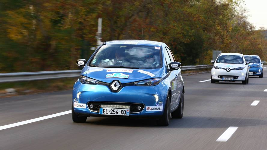 Motor1.com Fransa, Renault ZOE'ler ile Monte Carlo eRallisi'nde