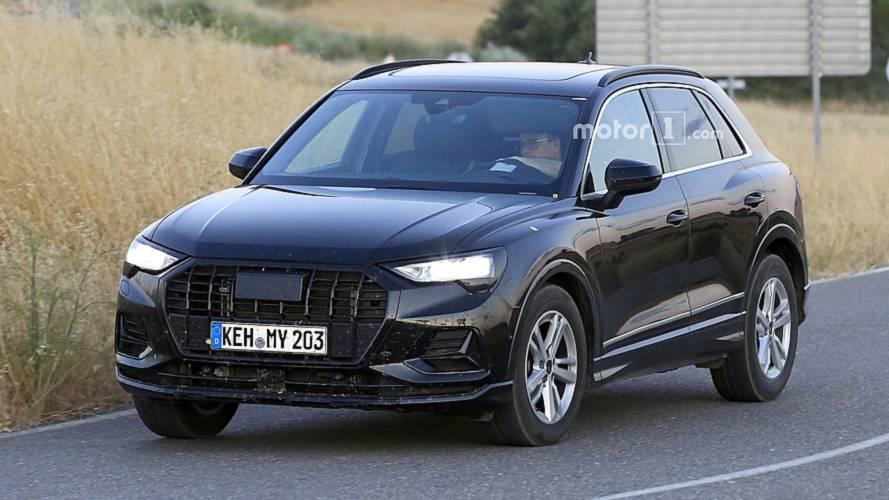 Audi Q3 2019: cazado en primer plano, sin apenas camuflaje