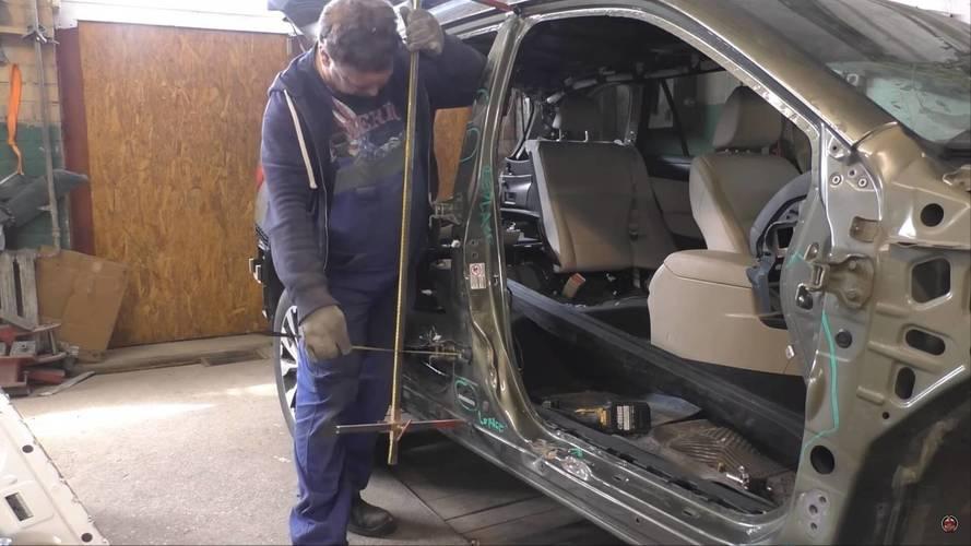 Pert olmuş Subaru Outback, hayata geri dönüyor