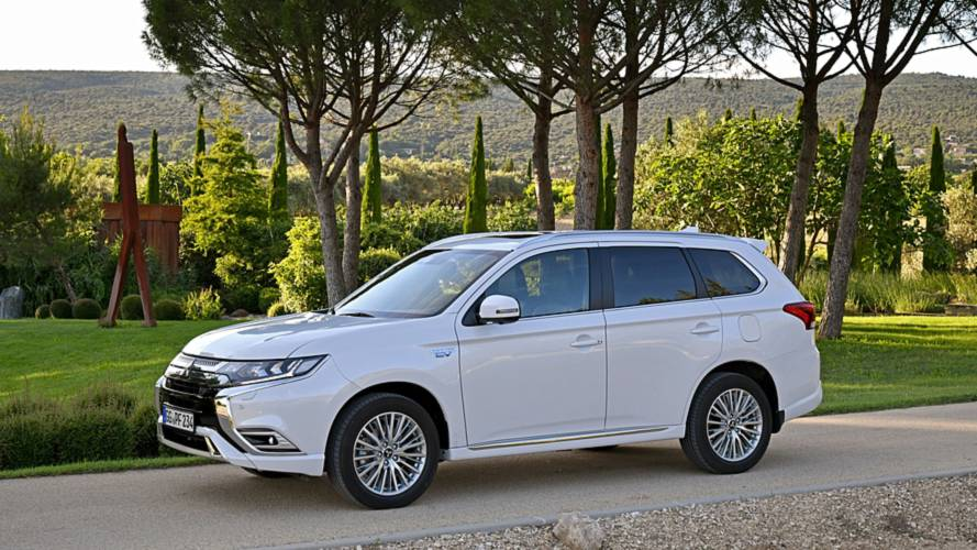 Mitsubishi Outlander is the UK's best-selling PHEV