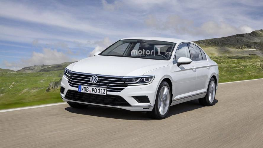 Et si la version restylée de la VW Passat ressemblait à ça ?