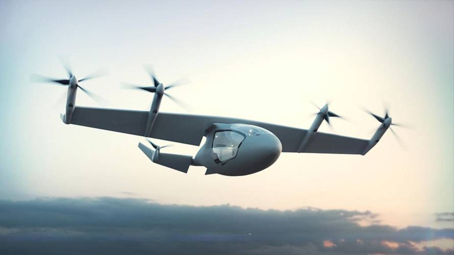 Rolls-Royce, l'aereo elettrico a decollo verticale