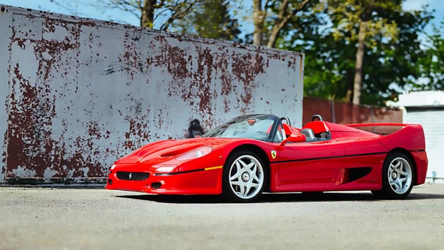 Eladó a valaha készült legelső Ferrari F50