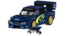 Lego Subaru WRX STI WRC Rally Car