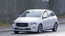 2019 Mercedes B-Class new spy photos