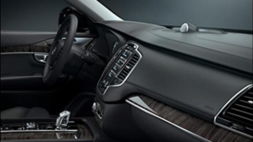 Nuova Volvo XC90, sempre connessa [VIDEO]