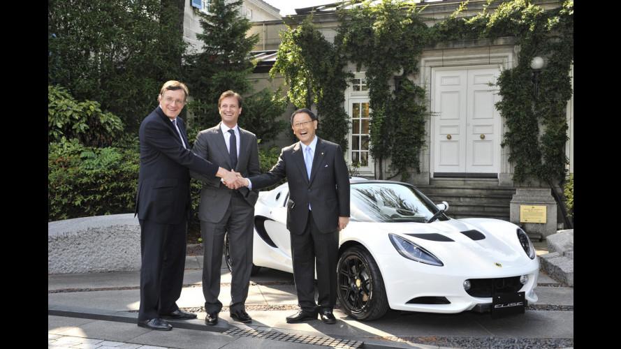 Lotus e Toyota, amici per i motori