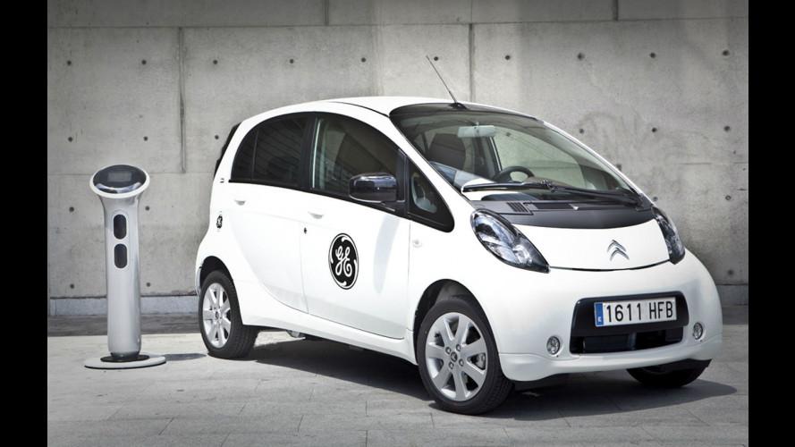 L'auto elettrica ora si ricarica alle stazioni General Electric