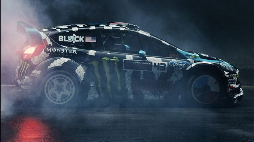 Ken Block è il quarto pilota del Titanium Strong Blackout