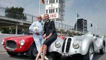 Legend Stirling Moss & Supermodel Jodie Kidd