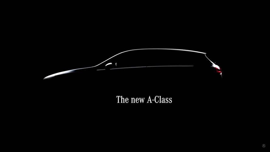 Mercedes A-Osztály teaser