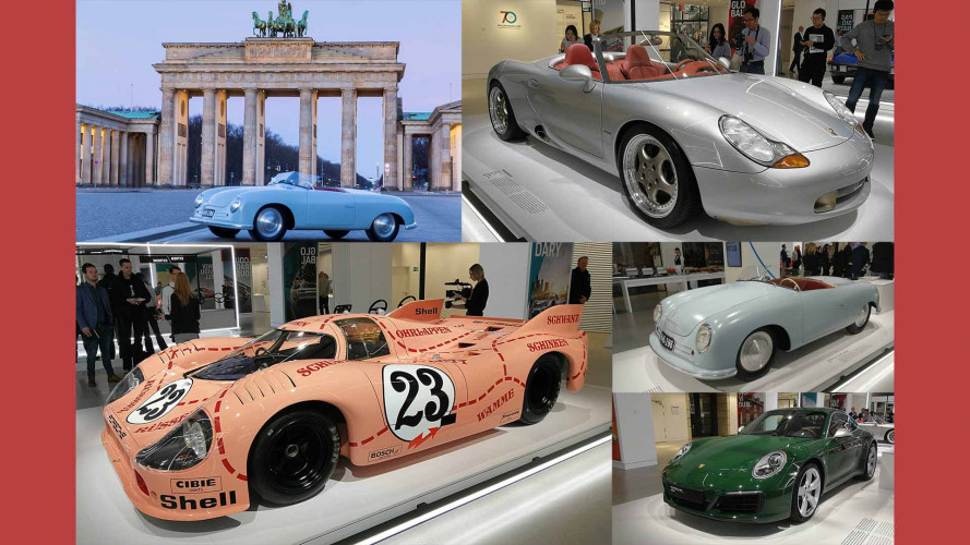 Experience Porsche's Celebration Of 70 Years Of Amazing Sports Cars