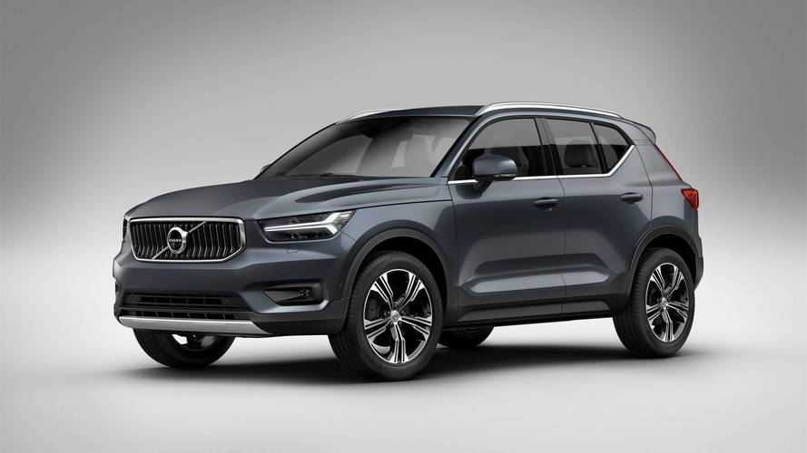 Volvo XC40 Gets The Company's First-Ever Three-Cylinder Engine