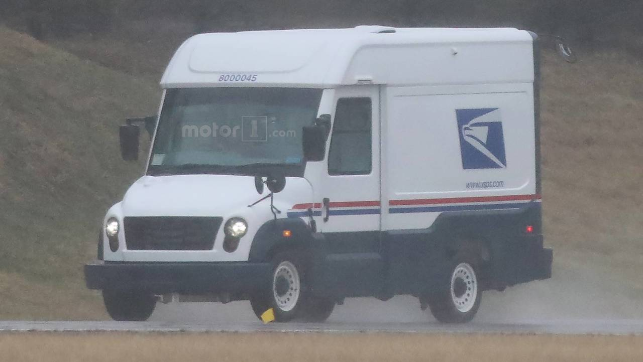 Mahindra'nın ABD Posta Servisi Aracı Prototipi