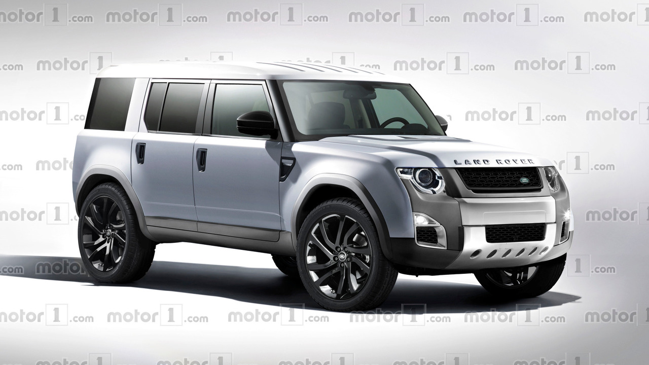 2018 Land Rover Defender rendering