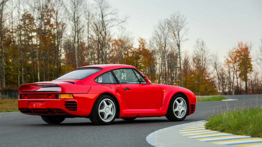 1987 Porsche 959 targets $1.3M at auction
