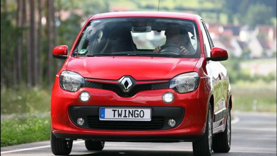 Renault Twingo, costretta a stupire