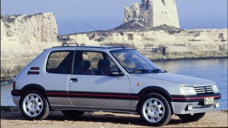 Peugeot 205, le