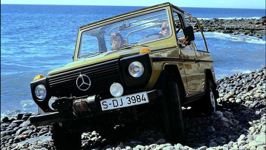 Mercedes Classe G, altro che SUV