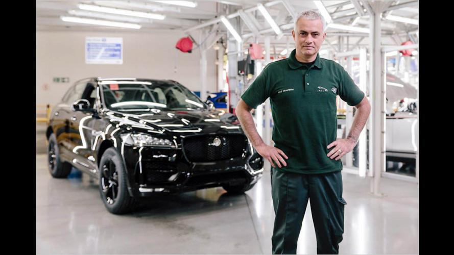 José Mourinho baut sich sein Jaguar-SUV