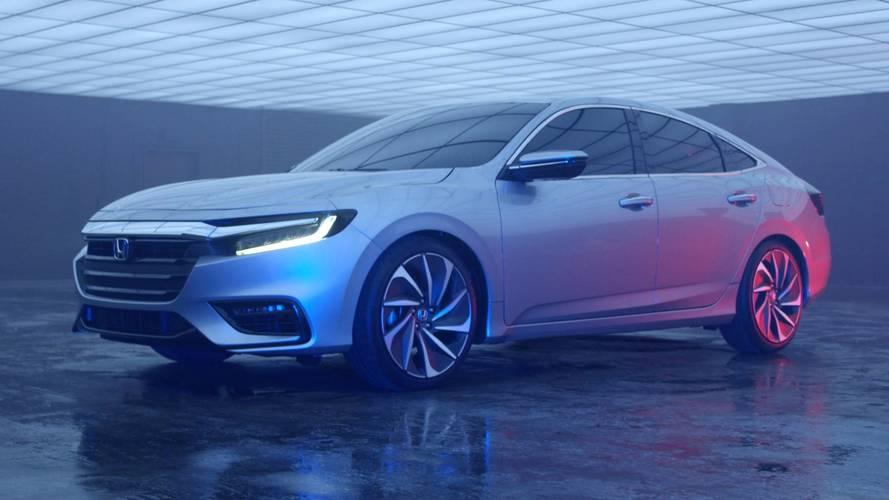 Honda, Detroit öncesinde 2018 Insight'ı gösterdi