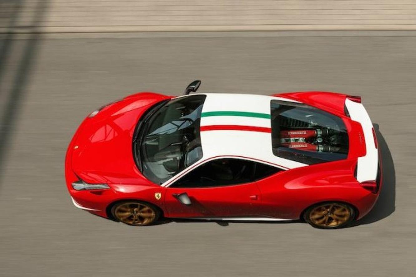 Exclusive Ferrari 458 Niki Lauda Edition For Sale in Germany
