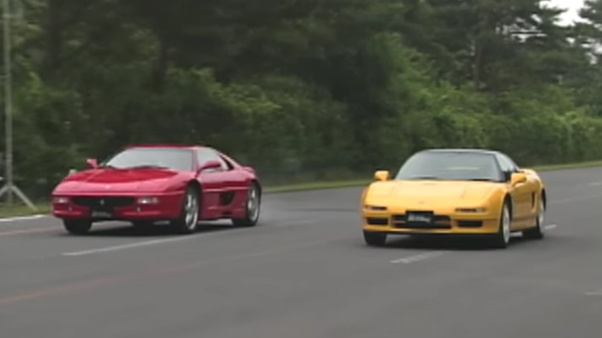 Acura NSX-R and Ferrari F355 drag race transports us back to 1995 on 2016 ford gt vs acura nsx, honda vs acura integra, honda acura nsx concept, 1990 acura honda nsx, honda civic with nos,