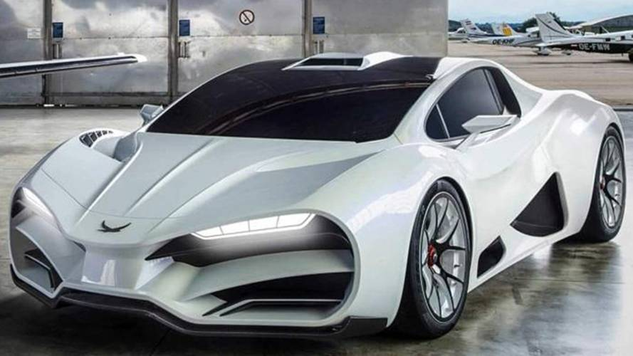 Milan Red Celebrates Austrian Engineering With 1,307-HP Hypercar
