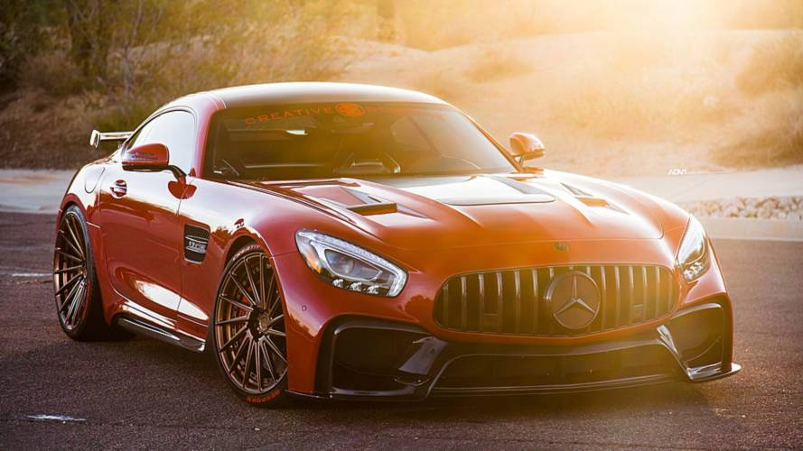 Heavily Modified Mercedes-AMG GT S Makes The GT R Look Bland