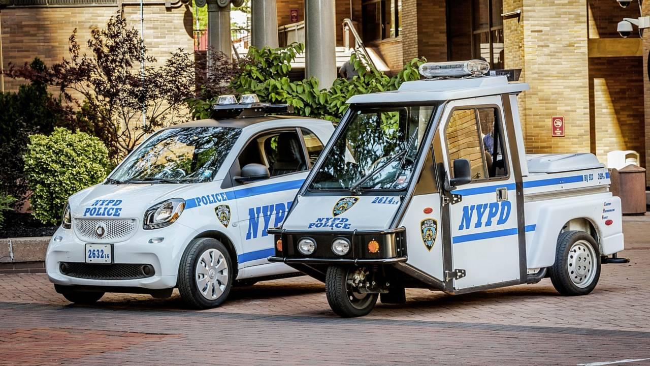 Полицейский автомобиль Smart ForTwo
