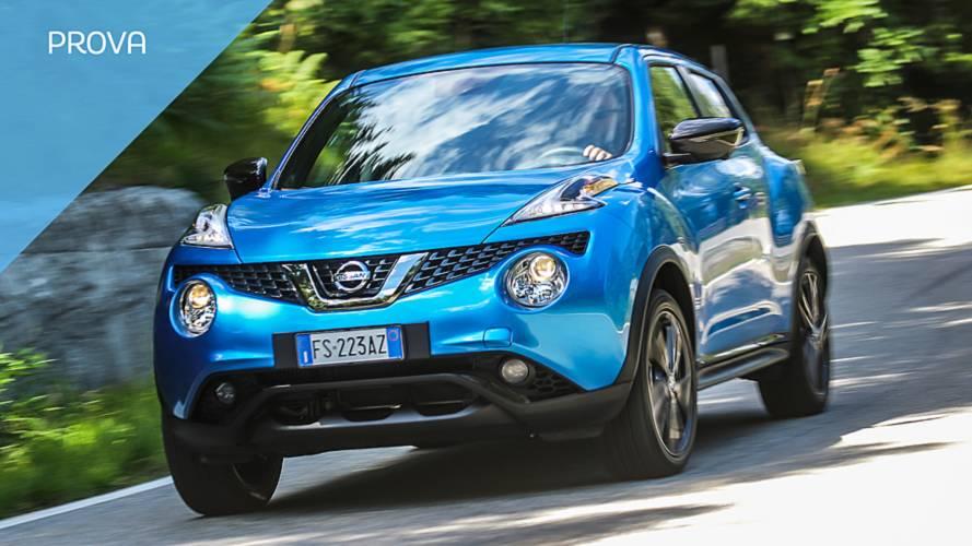 Nissan Juke 2018, novità alla prova