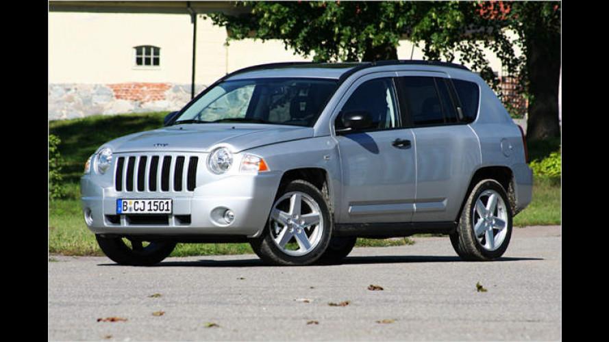 Compass zeigt den Weg: Neuer Kompakt-SUV von Jeep
