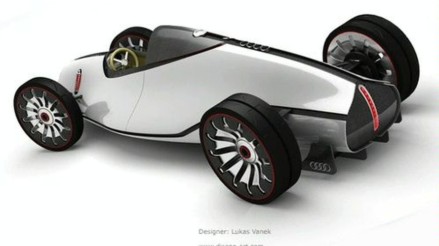 Designer Exercise: 2008 Auto Union Type-D Concept