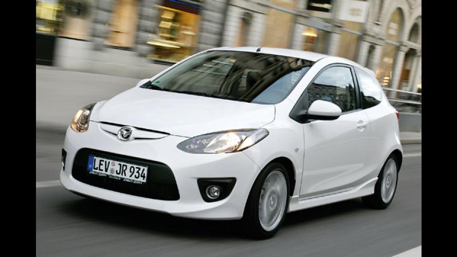 Stadtflitzer: Sportlicher Look für den Mazda 2 Impression