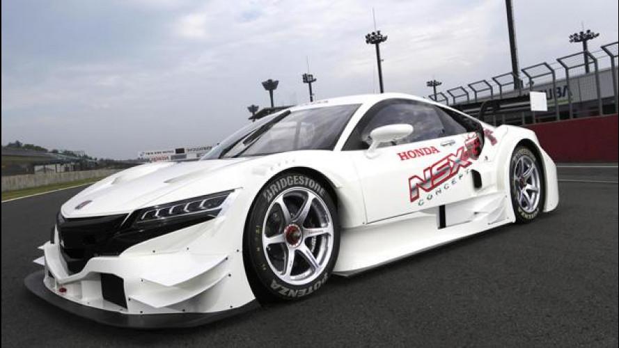 Honda NSX GT Concept: il primo video del web