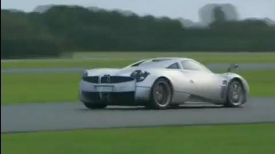 Pagani Huayra, la più veloce sul circuito di Top Gear