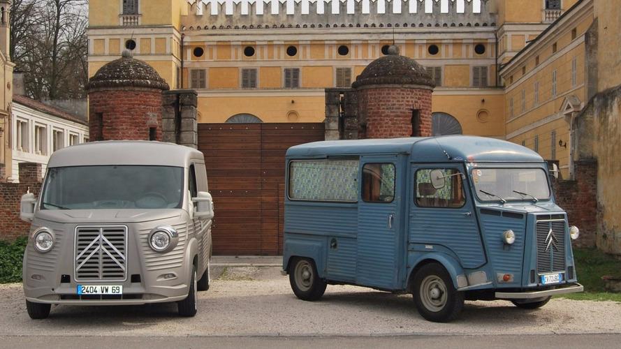 Citroën Jumper, body kit ile klasik Type H'ye dönüştü