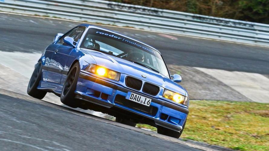 VIDÉO – Cette BMW M3 E36 boucle le Nürburgring en  7 min 25