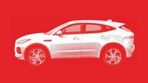 2018 Jaguar E-Pace Teaser