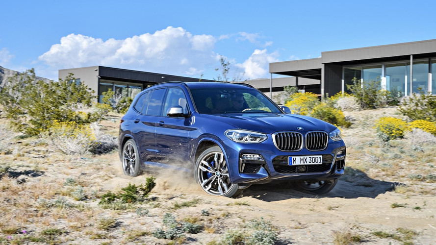 BMW Reveals Hot M-badged X3 (And Slower Models, Too)