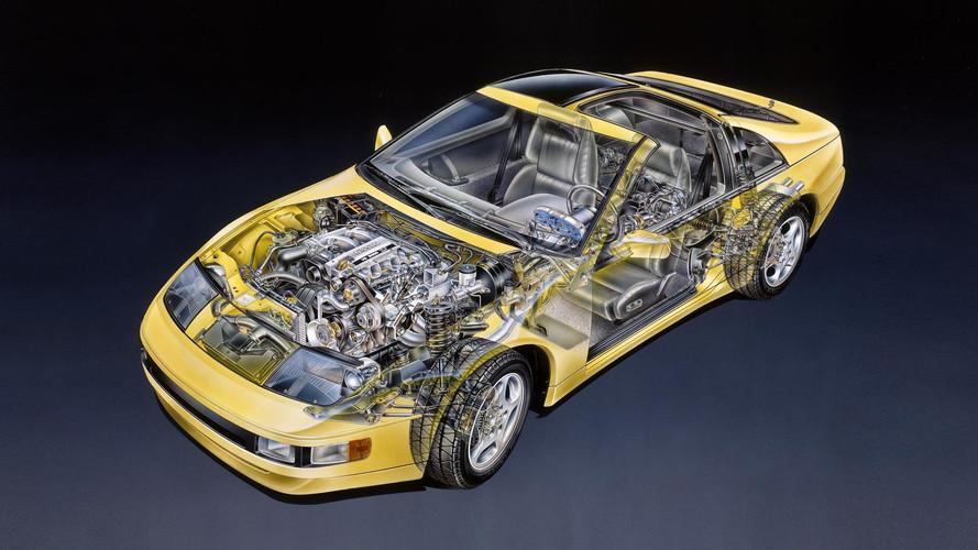 Teknik Çizim: Nissan 300ZX