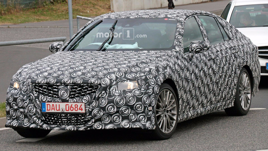 Next-Gen Lexus GS May Have Been Spied Testing At The 'Ring