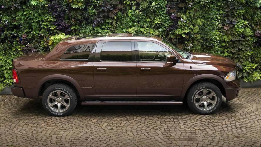 İtalyanlar, Ram 1500 pick-up'ını lüks bir SUV'ye dönüştürmüş
