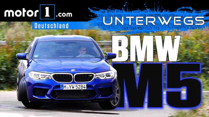 Sind 600 PS genug?: BMW M5 | UNTERWEGS mit Daniel Hohmeyer