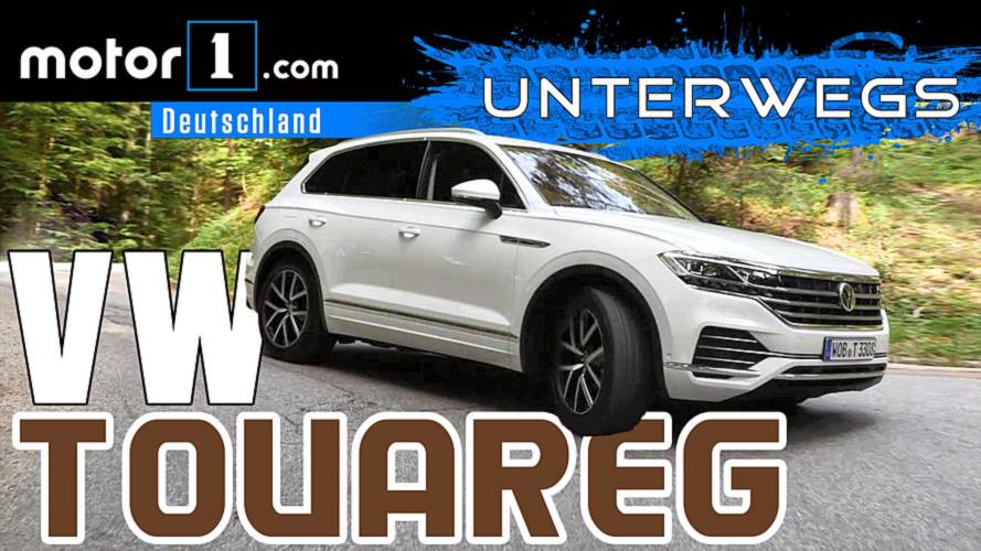 Sauviel Technik und sauteuer?: VW Touareg | UNTERWEGS mit Daniel Hohmeyer
